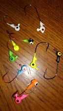 Roundhead Jig Heads 1/16oz Mixed colors & styles See Pics