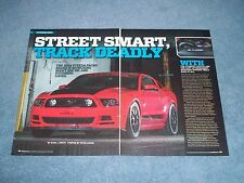 "2014 Steeda Q650 Mustang Info Article ""Street Smart, Track Deadly"""