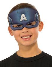 Captain America Plush Eyemask, Kids Avengers Costume Accessory
