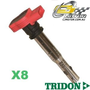 TRIDON IGNITION COIL x8 FOR Audi  S5 09/07-06/10, V8, 4.2L CAUA