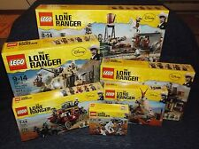 Sealed Complete Lego Lone Ranger Collection 79111 79110 79109 79108 79107 79106!