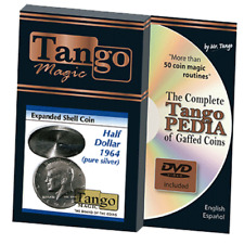 Tango Silver Line Expanded Shell Silver Half Dollar 1964