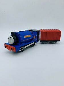 Thomas & Friends Trackmaster Motorized Sir Handel With Cargo In Charge