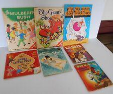 7 VINTAGE CHILDREN'S STORY BOOKS