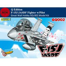 Great Wall Hobby GQ-002 F-15J JASDF Fighter Q Edition w/Pilot Assembly Model Kit