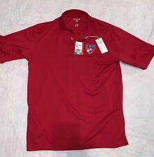 New Men's Antigua Fc Dallas Soccer Polo Shirt Size Small Nwt