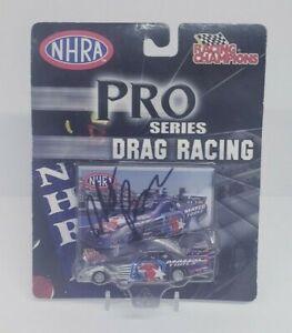 2005 Racing Champions Autographed Antron Brown pro series drag racing NHRA