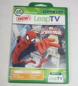 Leap Frog Leap TV Marvel Ultimate Spiderman Educational Video Game