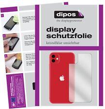 5x Schutzfolie für Apple iPhone 11 Rückseite Display Folie klar