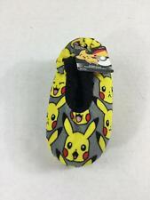 Pokemon Slipper Socks Boys NEW Small/Medium 8-13 Slip On Fleece Gripper Bottoms