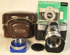 VOIGTLÄNDER Ultramatic CS with 1:2 Septon Lens, Case, Instructions, and Hood
