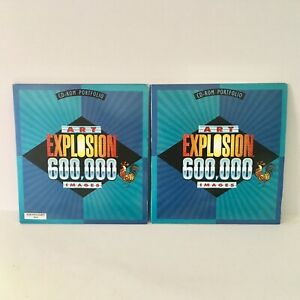 Art Explosion 600,000 Images Clip Art PC Windows 29 Discs Computer Software NOVA