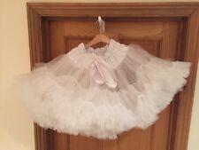 Hand Made White 6-8 year Girl Tutu Petti-skirt Italian Net Skirt Angel Ballet  2