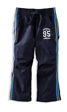 Oshkosh Boys Lined Athletic Wind Pants Navy Blue Size 4 NWT