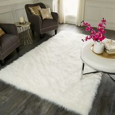 Faux Sheepskin Fur Area Rug