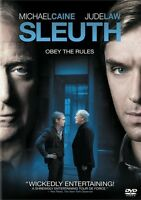 """Sleuth (DVD, 2008) New, Michael Caine, Jude Law, """"Obey the Rules"""""""