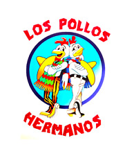 STICKER LOS POLLOS HERMANOS BUMPER STICKER FREE POST BREAKING BAD TV SHOW