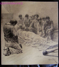 DESSIN ORIGINAL ALFRED PARIS - illustration livre Voyages de Louis Garneray #4