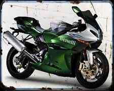 BENELLI Tornado Tre 1130 08 2 A4 Metal Sign moto antigua añejada De