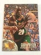 Card Gary Payton FLEER METAL '95-96 #193