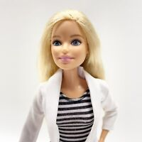 2019 Barbie Doll DENTIST Career You Can Be Anything Blonde Hair Blue Eyes