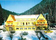 """AK, Wildemann Oberharz, Parkhotel """"Bremer Schlüsssel"""", Winteransicht, um 1990"""