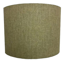 Lampshades Ideal To Match Green Linen Curtains & Green Linen Cushion Covers.