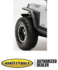 "Smittybilt XRC Armor Tube Fenders w/ 3"" Flare 76-86 Jeep CJ7 76867 Black"