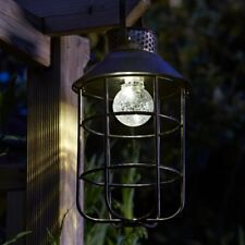 Zephyr Solar Hanging Lantern Dual Power Ideal Gift Idea