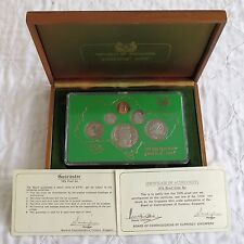 Singapore 1976 6 MONETE PROOF ANNO SET-Sigillato/COMPLETA
