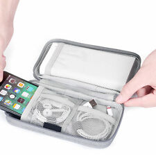 Electronic Cable Organizer Bag USB Charger Storage Case Pouch Accessories AL