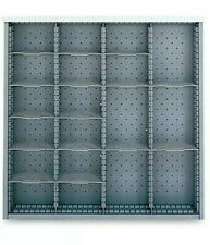 "LISTA Drawer Divider partition kit For 28-1/4x28-1/2"" Drawer Cabinet 2""x24"""