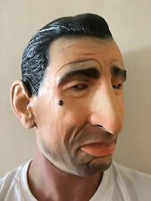 Goodfellas De Niro Mask Latex Fancy Dress Mafia Wiseguy Robert Celebrity Costume