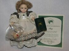 "8"" Little Girl Doll ""Meg"" By Chris Miller~ Originals International"