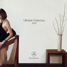 Mercedes Lifestyle collection catalogue 2005 Chronograph Montres accessoires foulards