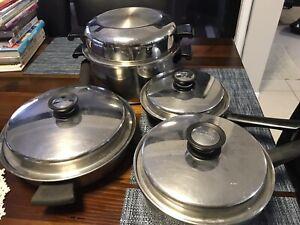 Amway Queen Cookware 10 Piece Set