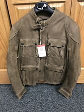 Indian Motorcycle Benjamin Jacket XXL Brown Leather 286370312 New With Tag
