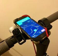 Fixation Smartphone Trottinette Electrique Silicone Grip - Xiaomi M365 (N+N+R)