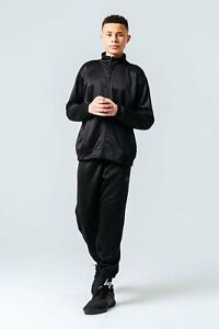 HYPE ESSENTIAL BLACK KIDS TRACKSUIT