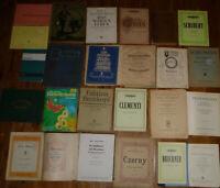 25x KLAVIER PIANO NOTEN: Schubert Bruckner Grieg Schumann ... + Klavierschule