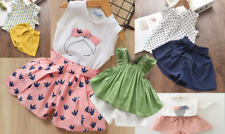 cute Girls Clothing Sets New Style Children kids Baby Clothes Suits 2pcs