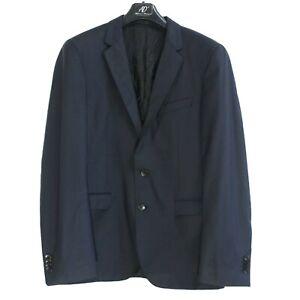 HUGO BOSS Men's Blazer Jacket Size M IT48 US UK 38 Blue