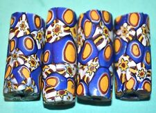Antique Venetian Multiple Cane Italian Murrine Millefiori Beads, African Trade