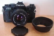 Canon AE1 Program 35mm SLR with 50mm f1.8 Lens