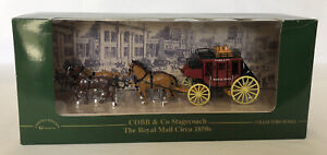 MATCHBOX AUSTRALIA POST COBB AND CO STAGECOACH 1850's ROYAL MAIL