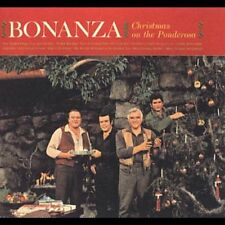 BONANZA CHRISTMAS ON THE PONDEROSA Greene Little Joe Hoss Cartwright Adam NEW CD