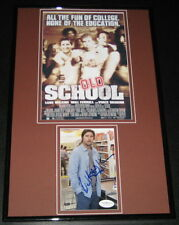 Luke Wilson Signed Framed 11x17 Photo Display JSA Old School