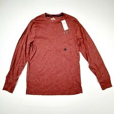 Hollister Must Have Collection Men's Long Sleeve T-shirt Size Small Maroon QI9