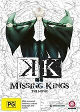 K' the Movie: Missing Kings - Neko NEW R4 DVD