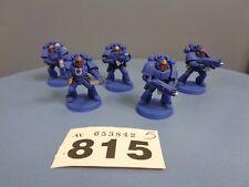 Warhammer Space Marines Forge World Parts Ultramarines Praetorian Vets Squad 815